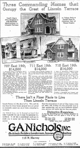 Ad ran on August 28, 1927